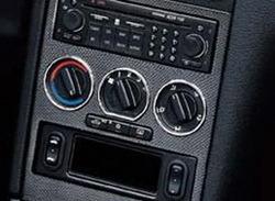 Кольца Opel Astra G серебристые матовые