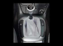 Комплект манжеты КПП и манжеты ручного тормоза Opel Corsa B из серой кожи