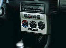 Накладка на среднюю консоль Opel Zafira A в стиле Alu-Look