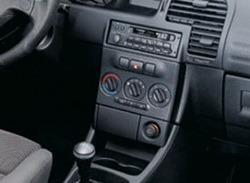 Накладка на среднюю консоль Opel Zafira A в стиле Carbon Light-Look