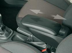 Подлокотник для Opel Astra J средний складной сдвижной