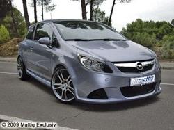 Обвес на Opel Corsa D Купе от компании Mattig