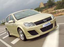 Обвес на Opel Astra H 5-ти дверная от компании Mattig