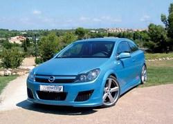 Обвес на Opel Astra H GTC от компании Mattig