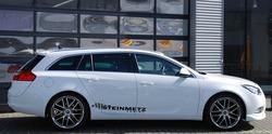 Обвес на Opel Insignia SportsTourer (дорестайлинг) от компании Steinmetz с комплектом дисков R20 в стиле ST7