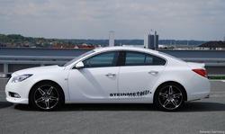 Обвес на Opel Insignia Седан (дорестайлинг) от компании Steinmetz с комплектом дисков R19 в стиле ST10