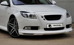 Накладка на бампер передний Opel Insignia Хэтчбек, Седан, Sports Tourer (дорестайлинг) в стиле Kampala
