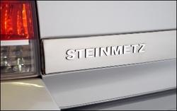 Эмблема Steinmetz для автомобилей Opel хромированная