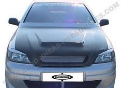 Капот Opel Astra G карбоновый