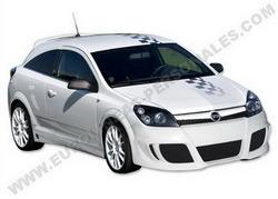 Бампер передний Opel Astra H в стиле Xtrem