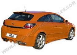 Бампер задний Opel Astra H в стиле Modena