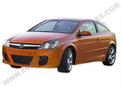 Обвес на Opel Astra H GTC от компании Eurolineas в стиле Modena