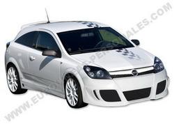 Обвес на Opel Astra H GTC от компании Eurolineas в стиле Xtrem