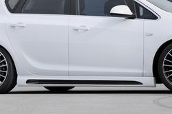 Пороги Opel Astra J Opel Astra J Хэтчбек, Sports Tourer в стиле Carbon-Look