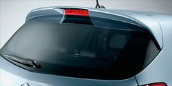 Спойлер на крышу Opel Corsa D 5-ти дверная в стиле OPC Line