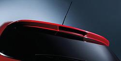 Спойлер на крышу Opel Astra H GTC в стиле OPC Line