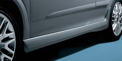 Пороги Opel Astra H GTC в стиле OPC Line