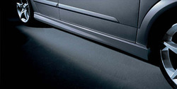Пороги Opel Astra H Хэтчбек в стиле OPC Line