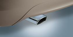 Насадка на глушитель Opel Meriva B