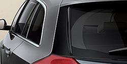 Накладка на стекло Opel Insignia Sports Tourer в стиле OPC Line (плавники)