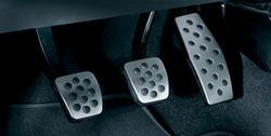 Накладки на педали Opel Astra H в стиле OPC Line из нержавеющей стали (для РКПП)