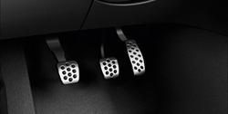 Накладки на педали Opel Astra J, Opel Insignia в стиле OPC Line из нержавеющей стали (для МКПП)