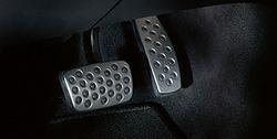 Накладки на педали Opel Astra H, Opel Astra J, Opel Insignia в стиле OPC Line из нержавеющей стали (для АКПП)