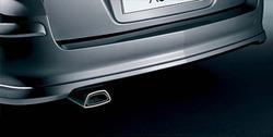 Накладка на бампер задний Opel Astra H Универсал в стиле OPC Line