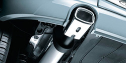 Глушитель Opel Corsa D, Opel Corsa E слева с одной насадкой в стиле OPC Line к моторам 1,0 л и 1,2 л кроме OPC/GSI