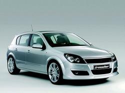 Обвес на Opel Astra H 5-ти дверная от компании Irmscher