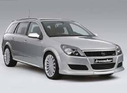 Обвес на Opel Astra H Универсал от компании Irmscher