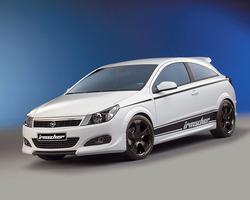 Обвес на Opel Astra H GTC от компании Irmscher