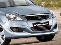 Обвес на Opel Zafira B от компании Irmscher