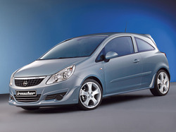 Обвес на Opel Corsa D Купе от компании Irmscher