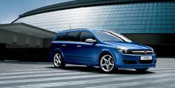 Обвес на Opel Astra H Универсал от компании Opel в стиле OPC Line I