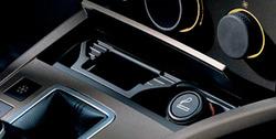 Пакет курильщика Opel Astra H в цвете матовый хром