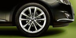 Диски литые R18 легкосплавные серебристые дизайн 5 двойных спиц для Opel Astra J c бензиновыми двигателями 1,4 л, 1,4T л и 1,6 л, дизельными двигателями 1,3 л