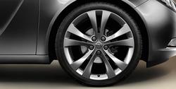 Диски литые R20 легкосплавные с покрытием Manoogian дизайн 5 двойных лучей для Opel Insignia