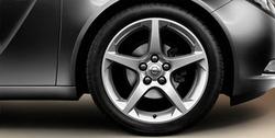 Диски литые R19 легкосплавные серебристые для Opel Insignia