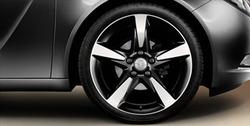 Диски литые R19 легкосплавные двухцветные дизайн 5 лучей для Opel Insignia