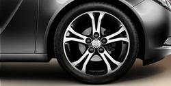 Диски литые R18 легкосплавные антрацит дизайн 5 двойных лучей для Opel Insignia