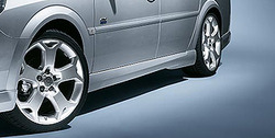 Пороги Opel Vectra C в стиле OPC Line