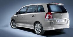 Обвес на Opel Zafira B от компании Opel в стиле OPC Line I