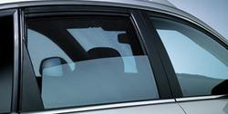 Защитные шторки на боковые окна Opel Antara