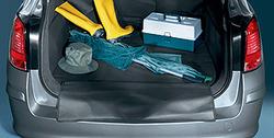 Коврик в багажник Opel Astra H складной