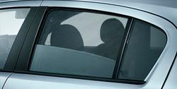 Защитные шторки на боковые окна Opel Corsa D