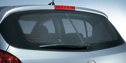 Защитные шторки на заднее окно Opel Corsa D