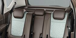 Подголовник задний Opel Meriva B текстильный черный