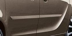 Боковые молдинги Opel Meriva B под покраску