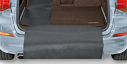 Коврик в багажник Opel Meriva B складной цвета какао